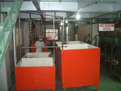 工場内貯汁タンク
